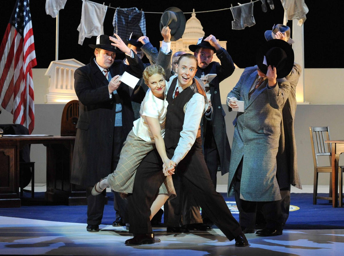 Mary Turner / <i>Of Thee I Sing</i> / Opera North