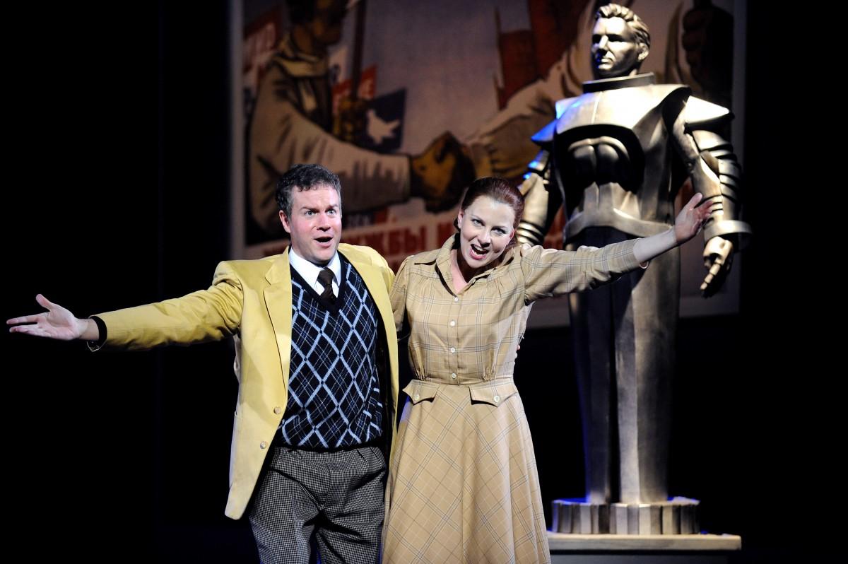 Masha / <i>Paradise Moscow</i> / Opera North
